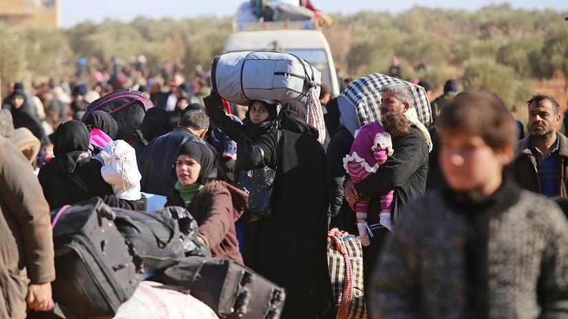 Из Алеппо была выведена очередная группа мирных жителей