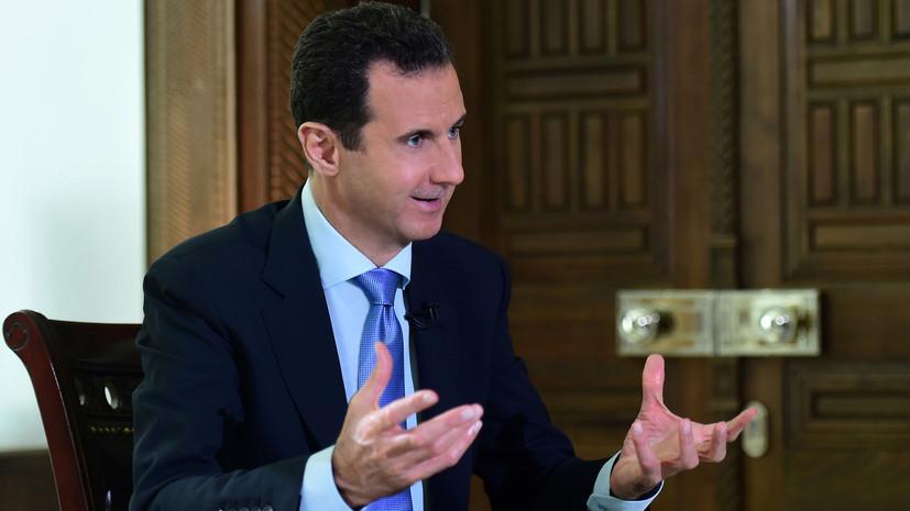 «США позволили боевикам напасть на Пальмиру»: RT публикует полную версию интервью Асада