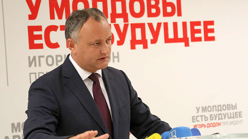 «Молдавию с Россией связывают столетия»: Игорь Додон в интервью RT
