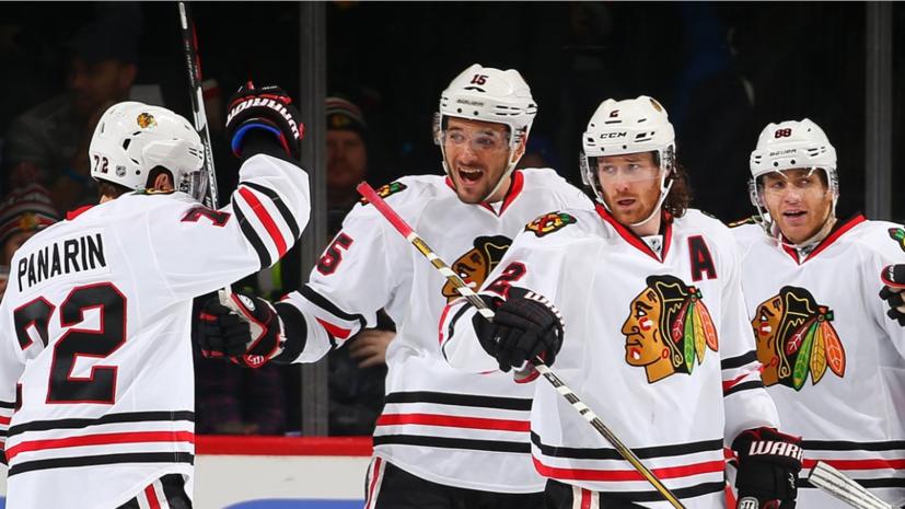 С «точки Овечкина»: дубль Панарина и гол Анисимова помогли «Чикаго» возглавить таблицу НХЛ