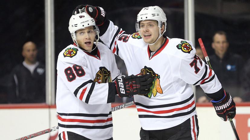 На багаже Панарина: «Чикаго» стал единоличным лидером НХЛ