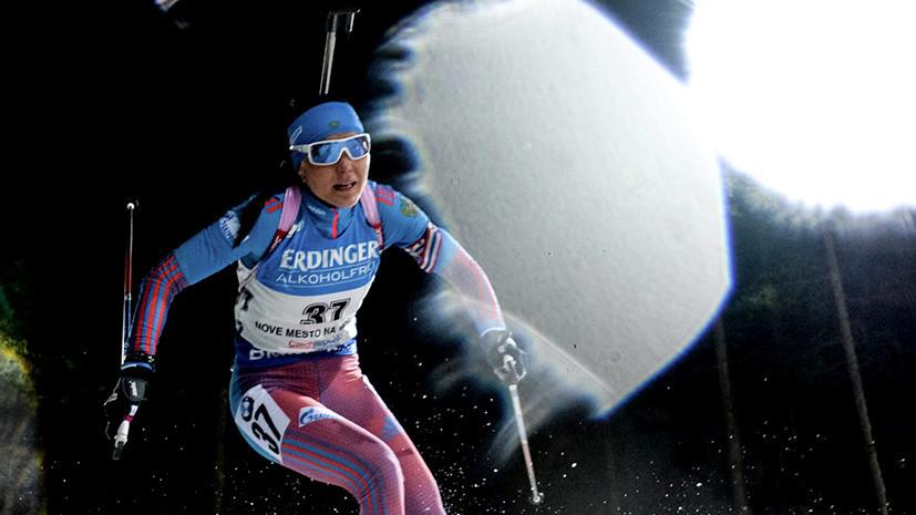 В десятке лучших: Акимова осталась без медали в масс-старте