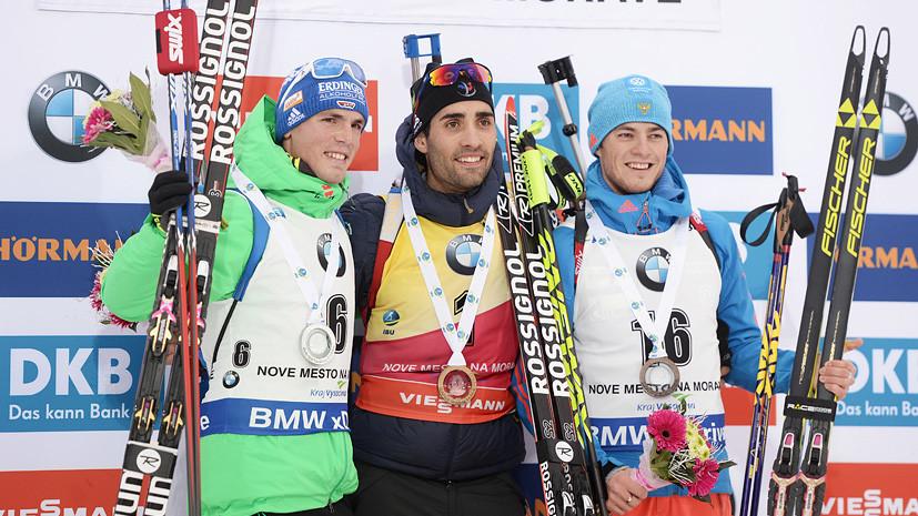 Один Антон вместо другого: Бабиков стал бронзовым призёром масс-старта на этапе КМ
