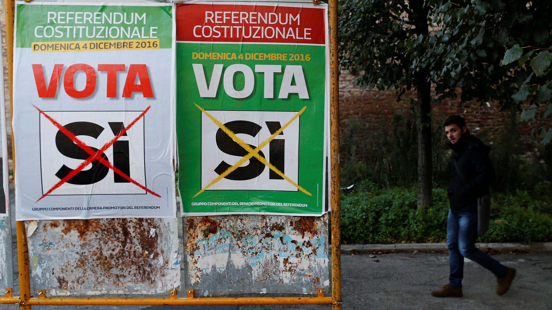«Сэкономим на чиновниках»: итальянцы о том, как будут голосовать на референдуме