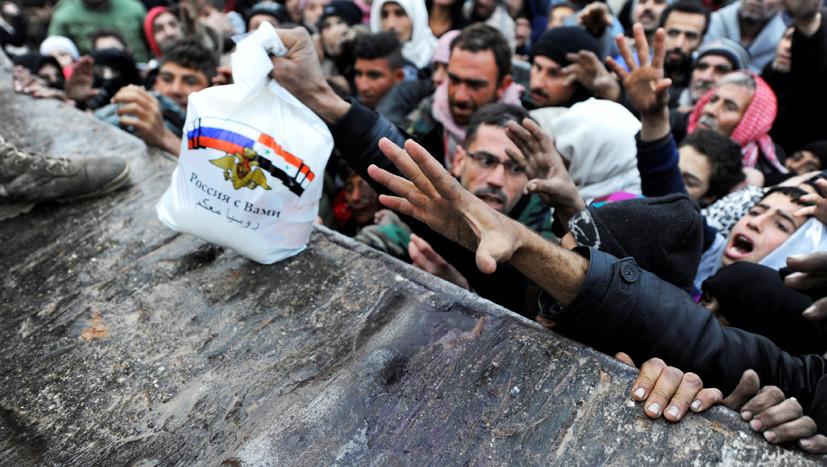 «Не мешайте другим помогать»: МО ответило на заявления Мэй о гуманитарной миссии в Алеппо