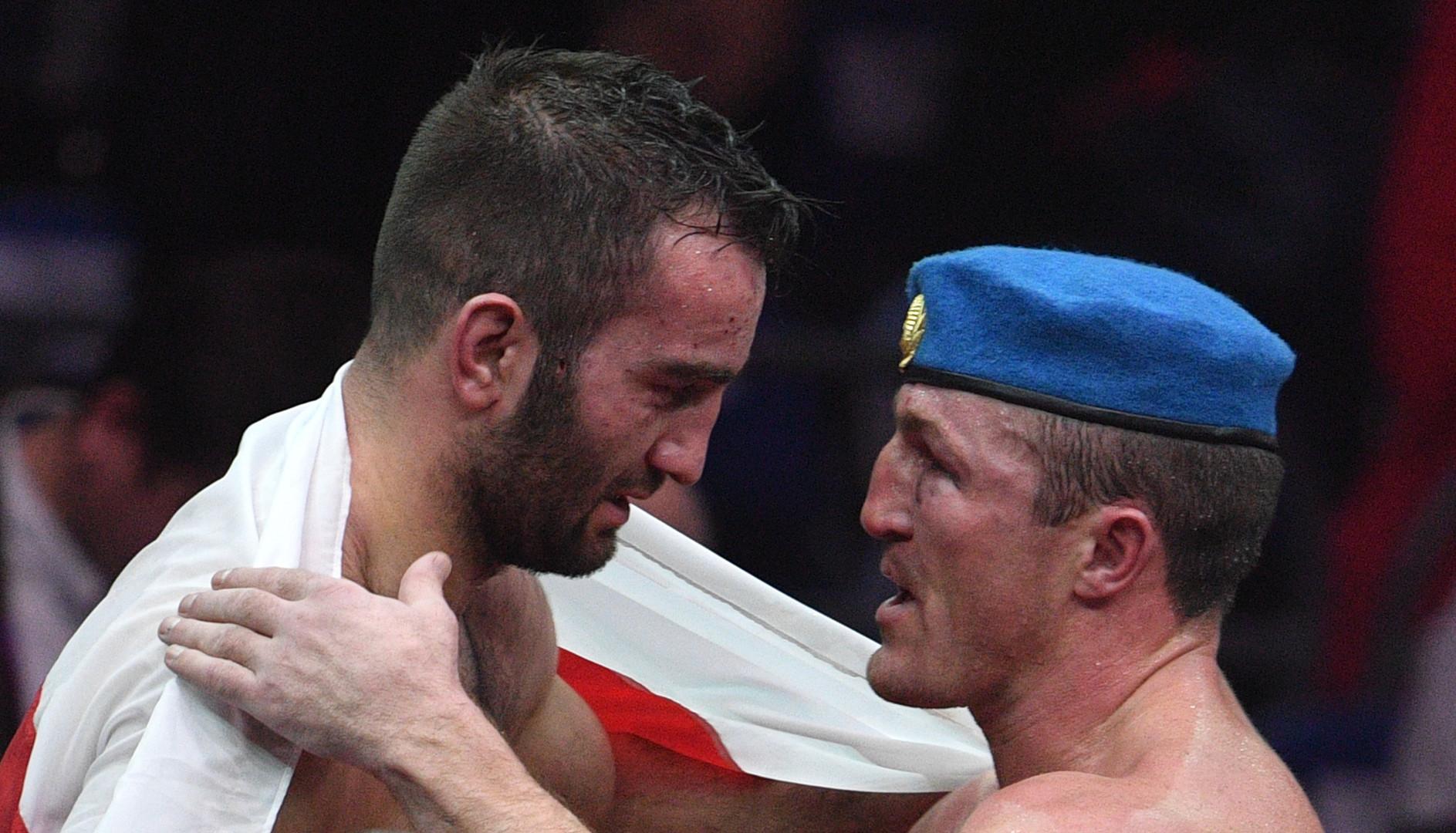 «Денис оправится от поражения»: Гассиев о бое с Лебедевым