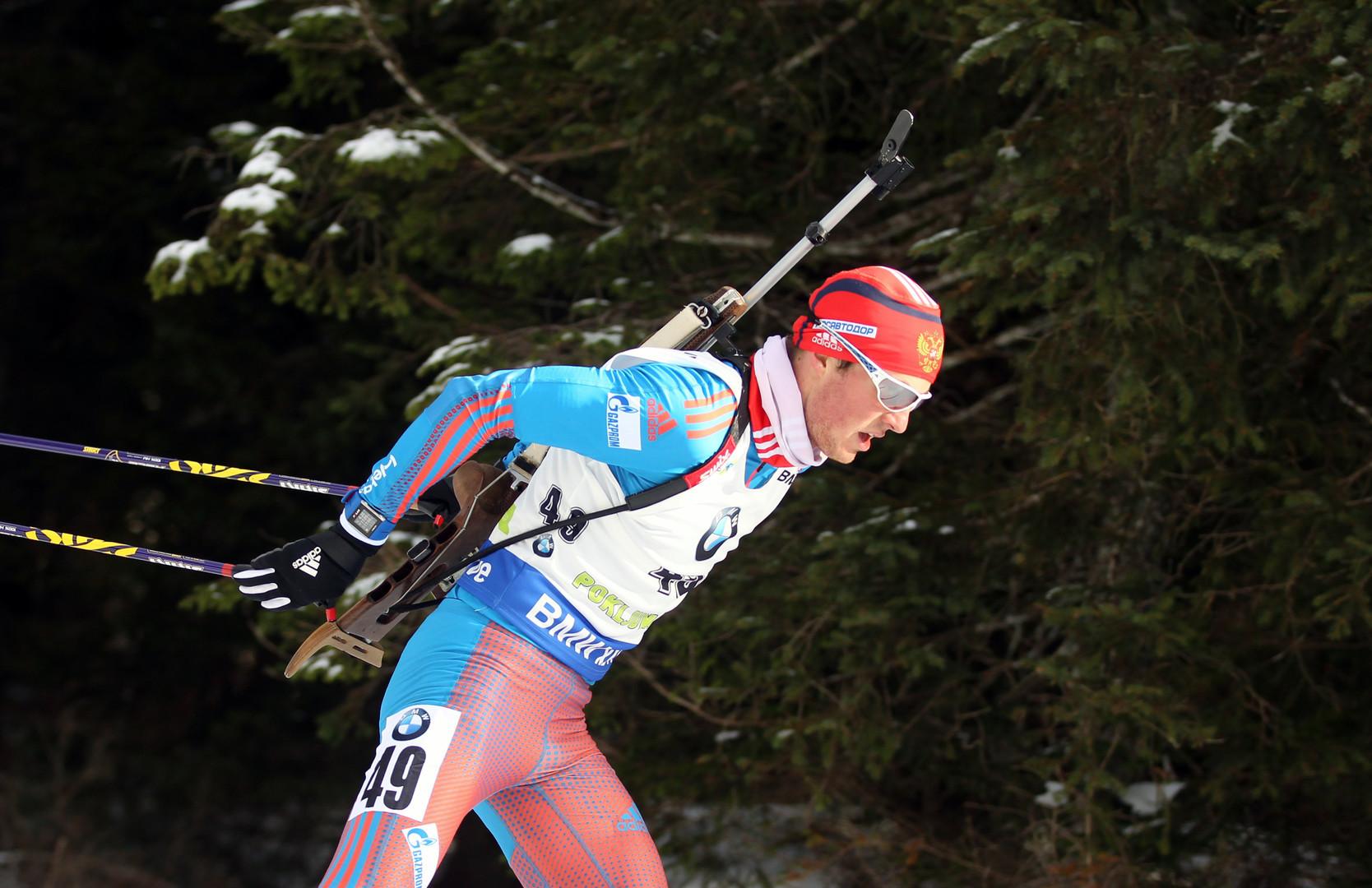 Командное серебро: россияне стали вторыми в эстафете на этапе Кубка мира по биатлону