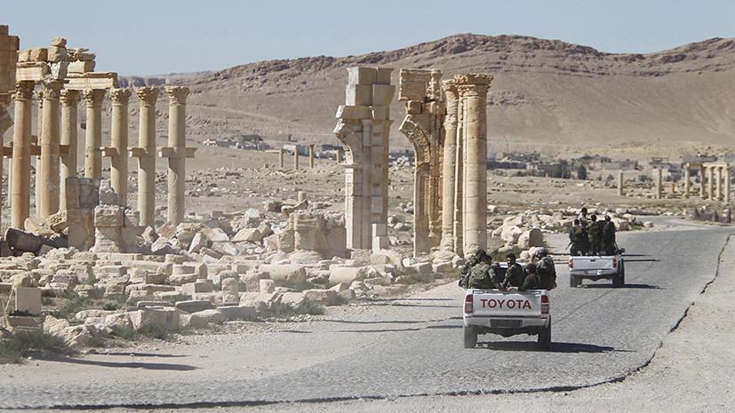 Щит Пальмиры: войска Сирии при поддержке ВКС России отразили атаку на древний город