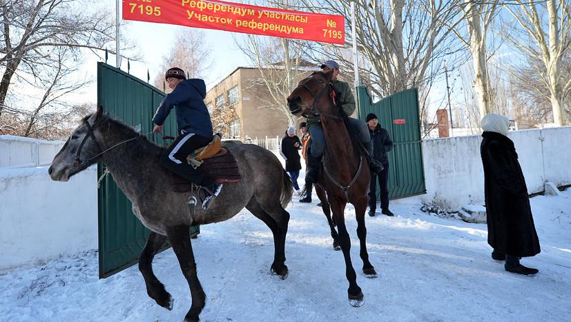 По новым правилам: Киргизия проголосовала за изменение Конституции