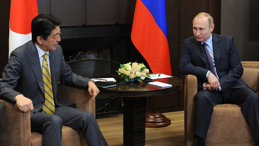 Премьерский форсаж: почему глава кабмина Японии спешит разрешить спор с Россией за Курилы