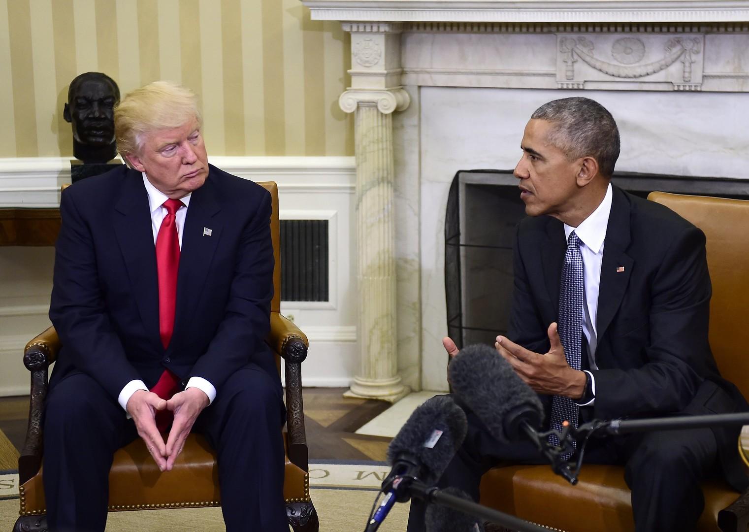Поствыборный синдром: Белый дом обвинил Трампа в связях с Россией и RT