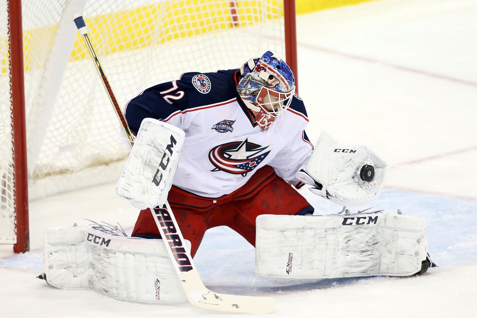 Самый выигрывающий вратарь: Бобровский вышел в лидеры НХЛ по числу побед в сезоне