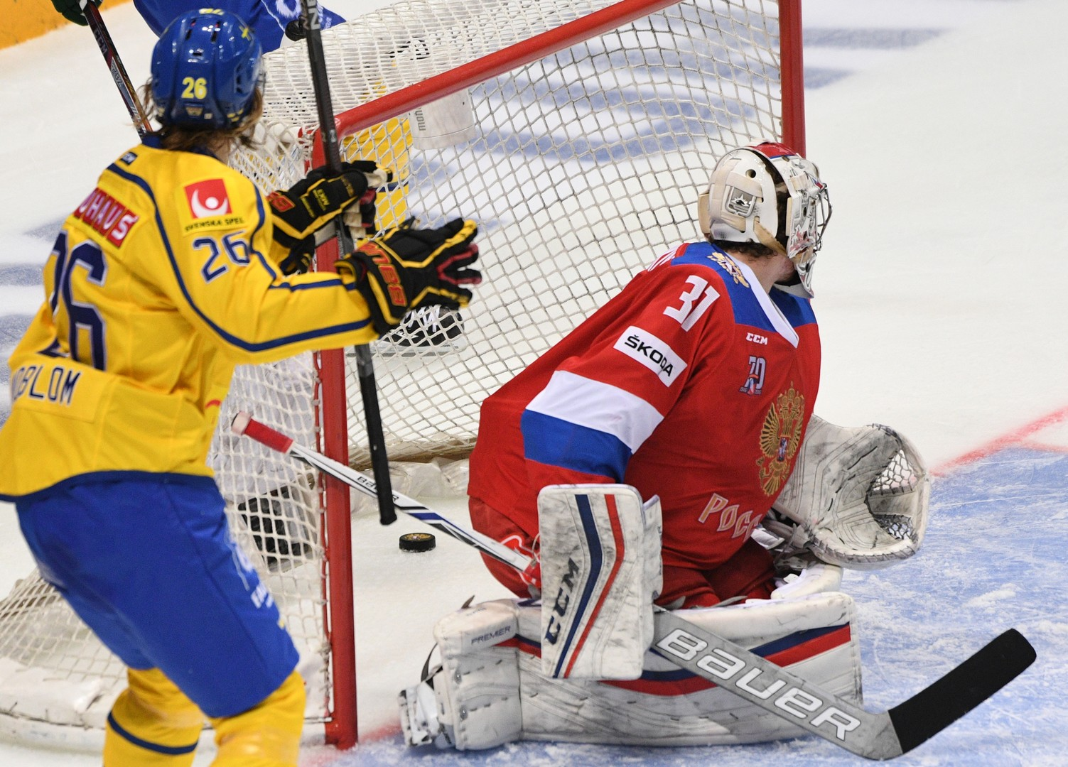 Аншлаг не вдохновил: Россия проиграла Швеции на глазах 12 тысяч болельщиков