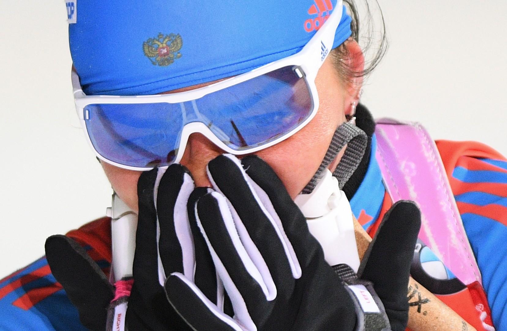 Медали в ответ на скандал: российские биатлонисты завоевали две награды на Кубке мира
