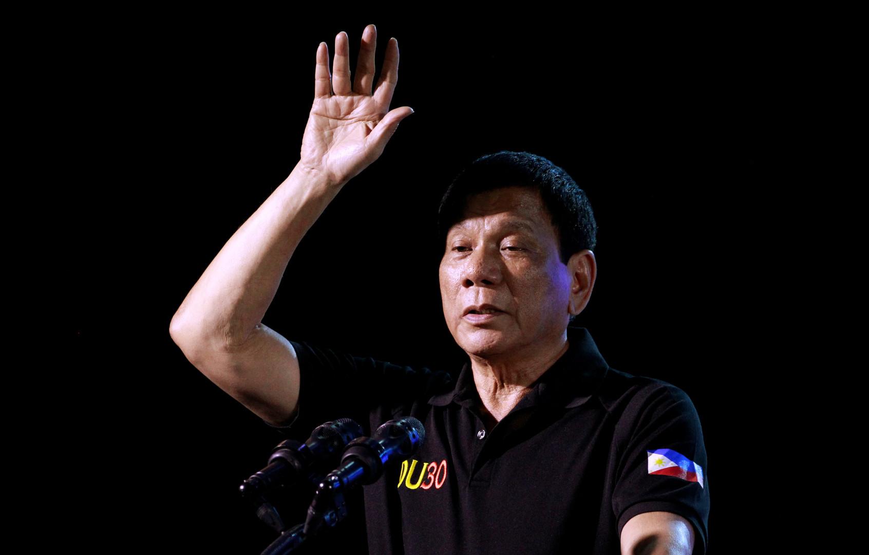 «Бай-бай, Америка»: президент Филиппин пригрозил США отказом от военного сотрудничества