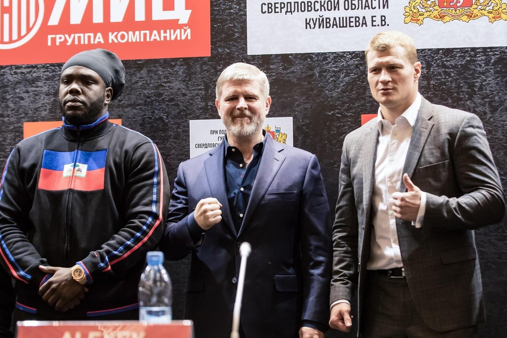 Рябинский пока непланирует подавать всуд после отрицательного допинг-теста Поветкина