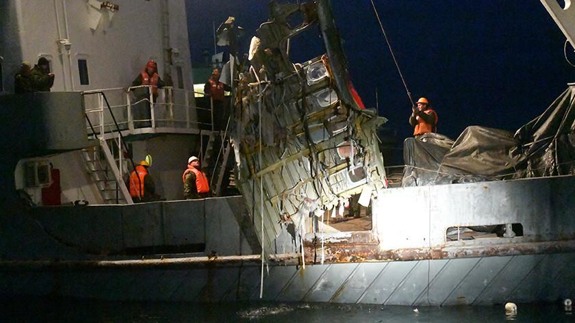 «Снял взлёт и падение Ту-154 в море»: у следствия появился свидетель авиакатастрофы