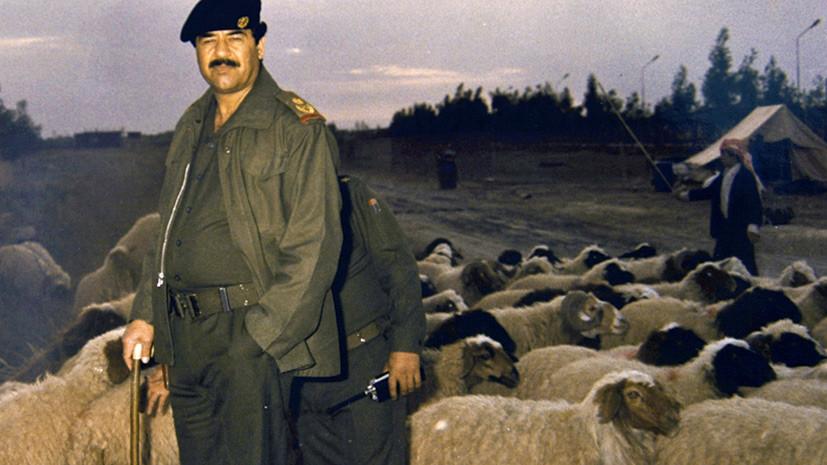 Недатированное фото из архивов режима Хусейна