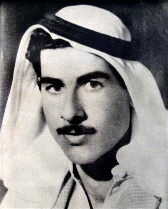 Молодой Саддам Хусейн во время членства в партии Баас, 1960-е годы.