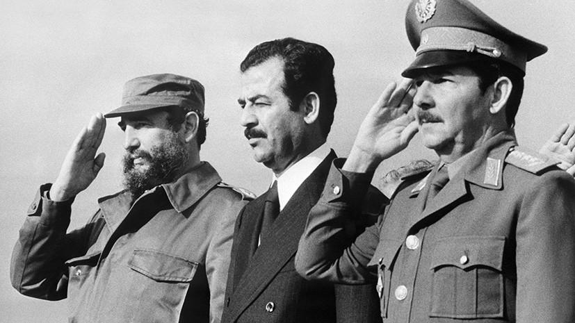 Вместе с Фиделем и Раулем Кастро