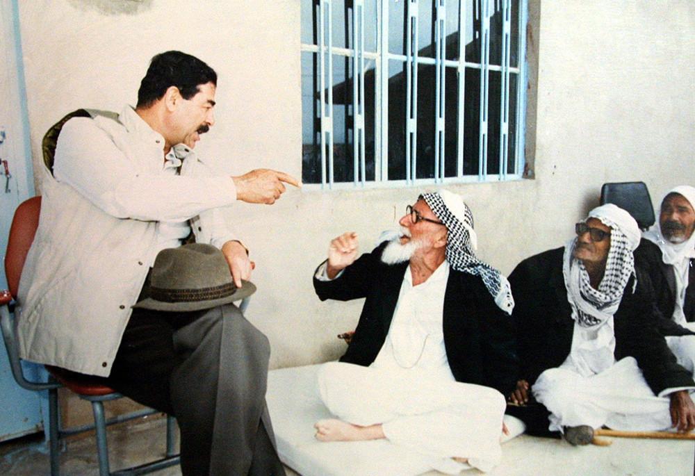 Беседа со старейшинами Мосула, 1993 год.
