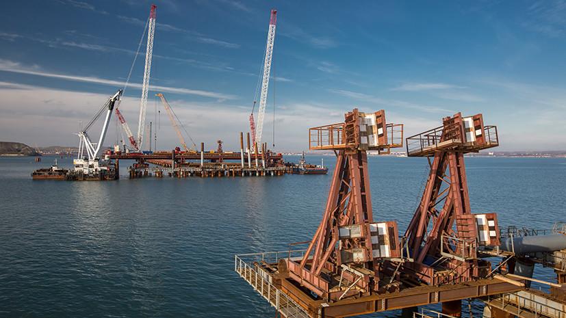 #Стройкавека: что было сделано в 2016 году для строительства моста в Крым