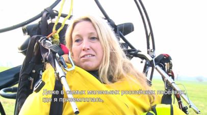 Люди-лебеди: британка пролетела с птичьей стаей над Суэцем