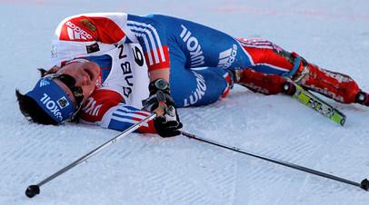«Я российский лыжник и бегаю без допинга»: Устюгов выиграл пять этапов «Тур де Ски» подряд