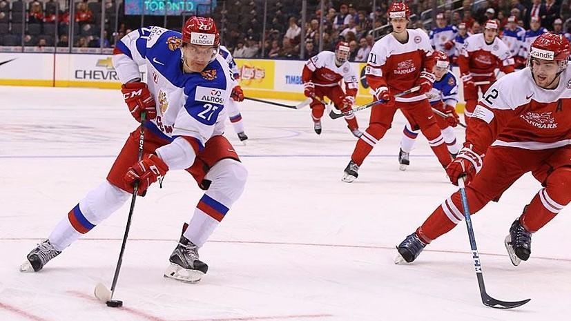 «Провели одну из лучших игр на турнире»: реакция на выход России в полуфинал МЧМ по хоккею