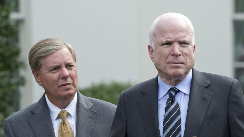 Всё разведали сами: зачем сенаторы-республиканцы хотят ввести новые антироссийские санкции