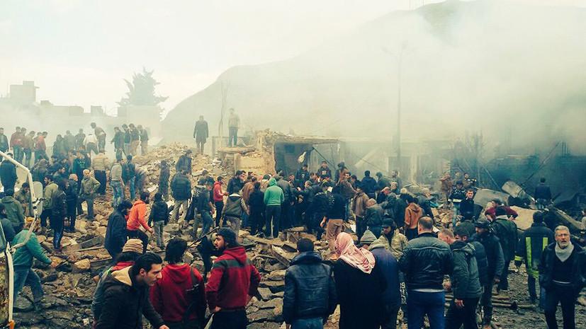 На границе с Турцией: в результате взрыва на севере Сирии погибли десятки человек