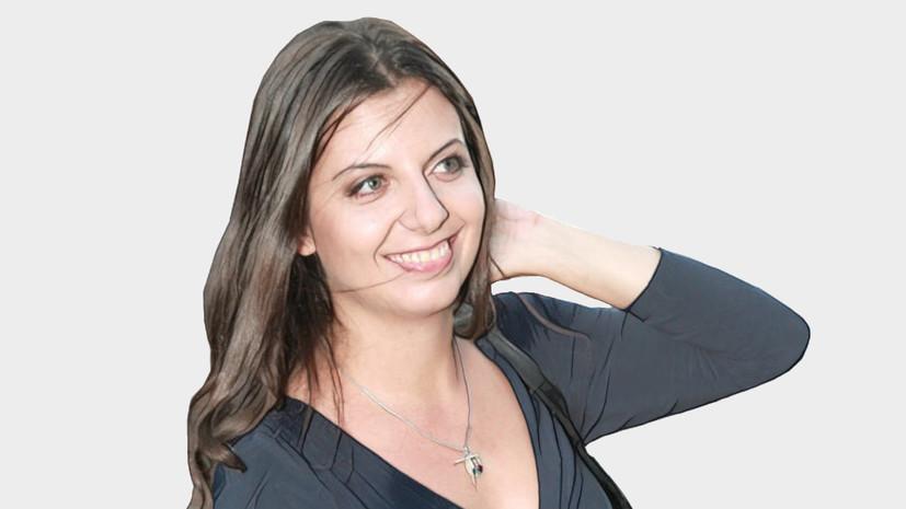 Личное мнение: Маргарита Симоньян о санкциях против России