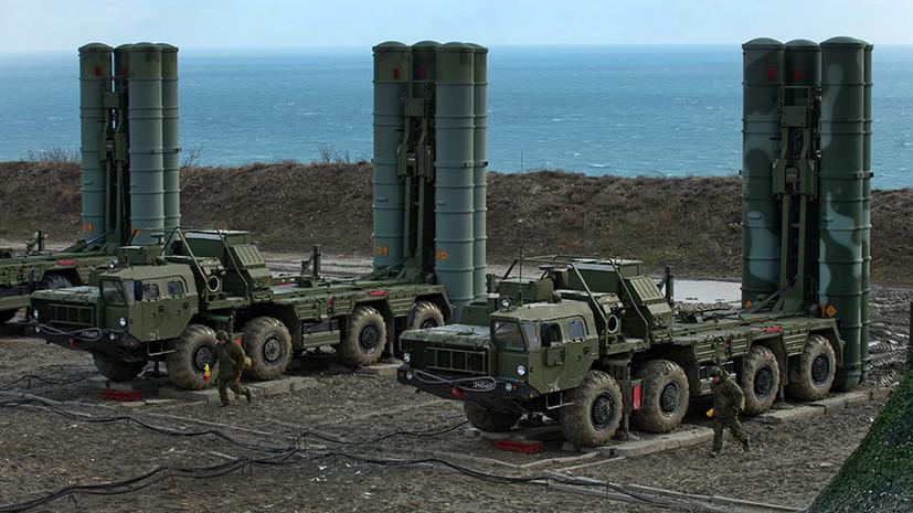 Россия укрепила ПВО Крыма новейшими зенитными комплексами