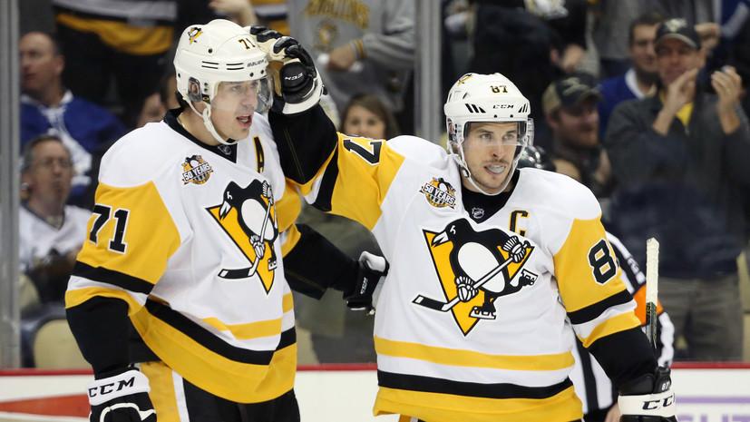 Малкин и Тарасенко настигают: россияне сократили отставание от лучшего бомбардира НХЛ