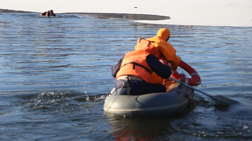 Губернатор Кубани поручил круглосуточно вести поиск провалившихся под лёд подростков