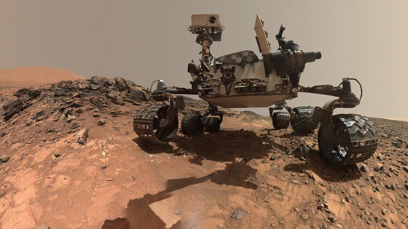 Железный сплав с другой планеты: марсоход Curiosity нашёл свой третий метеорит