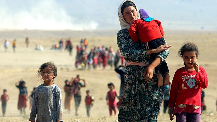 американцы обеспокоены геноцидом меньшинств на Ближнем Востоке