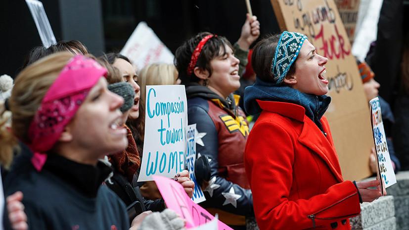 Женщины идут: сотни тысяч активисток со всего мира готовятся провести марши против Трампа