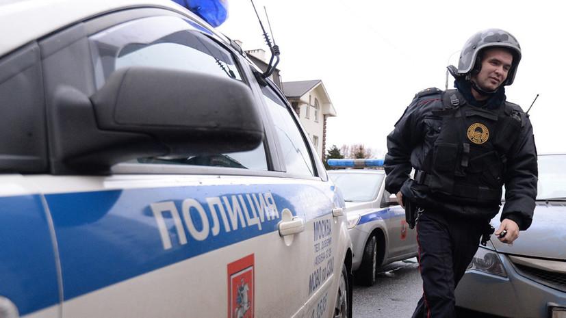 Московские полицейские обезвредили преступника, угрожавшего им гранатой