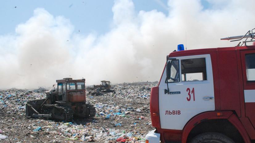 Отходной манёвр: скандал с вывозом мусора во Львове обвалил рейтинг конкурента Порошенко