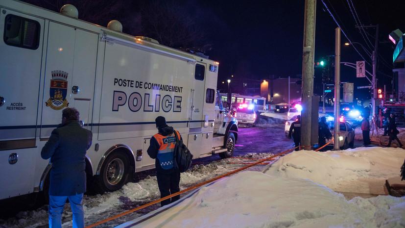 Теракт в мечети: в результате стрельбы в канадском Квебеке погибли шесть человек