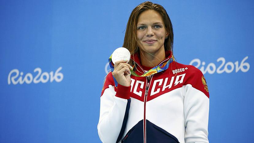 «Тренироваться в США больше не хочу»: пловчиха Юлия Ефимова о своём возвращении в Россию