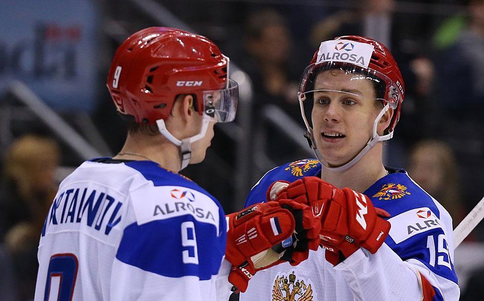 «Надежда на оборону и тройку Капризова»: эксперт о полуфинале МЧМ по хоккею Россия — США
