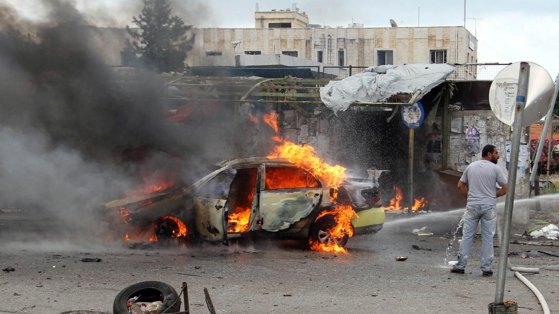 В результате теракта в сирийской Латакии погибли 15 человек