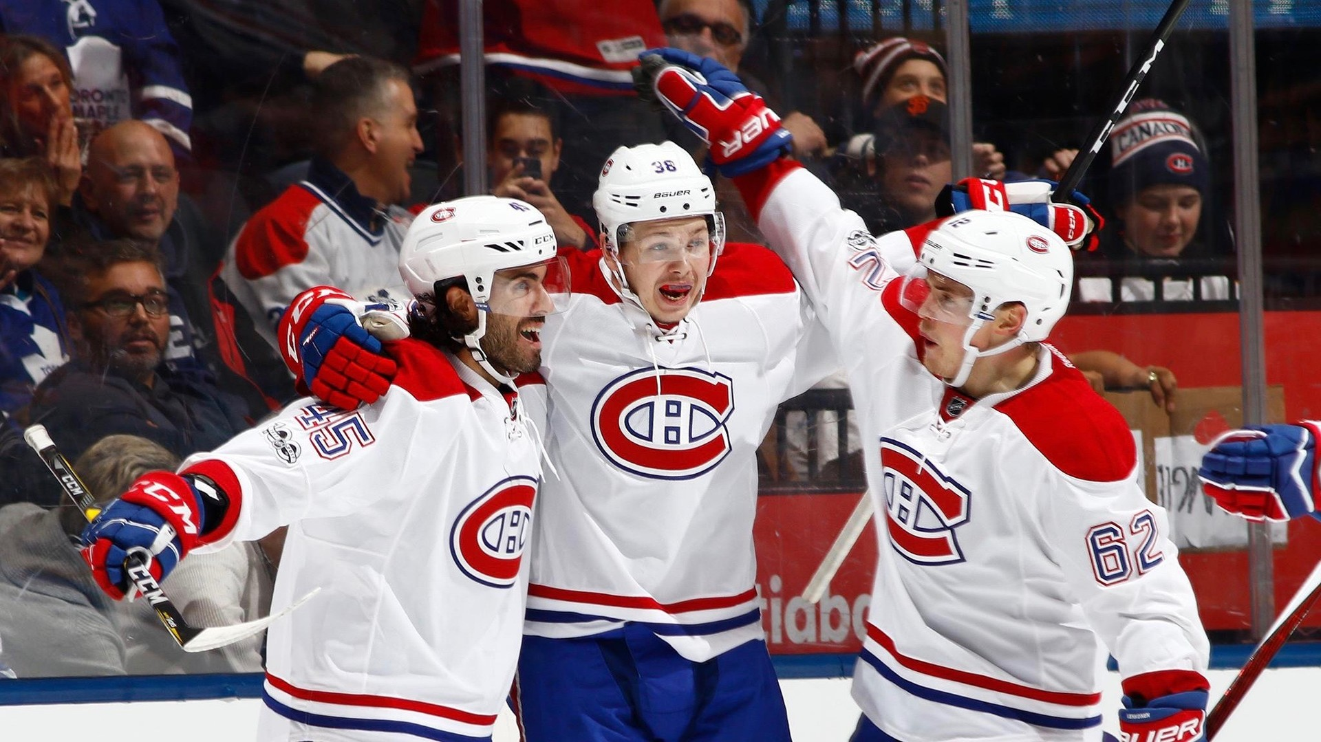 Дебют по-русски: нападающий «Монреаля» Щербак отметился шайбой в НХЛ первым же броском