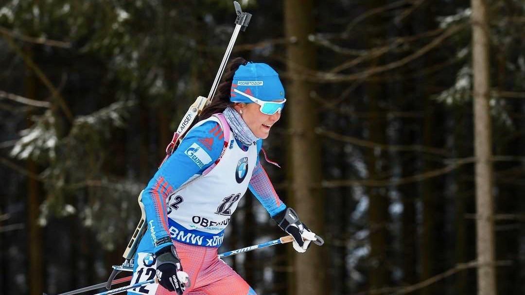 Из Оберхофа без медалей: Акимова стала 13-й в женском масс-старте