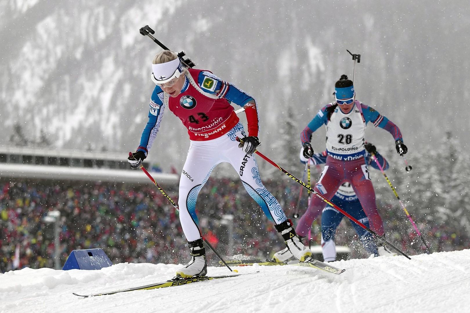 Мимо десятки: россиянки неудачно выступили в гонке преследования на этапе КМ