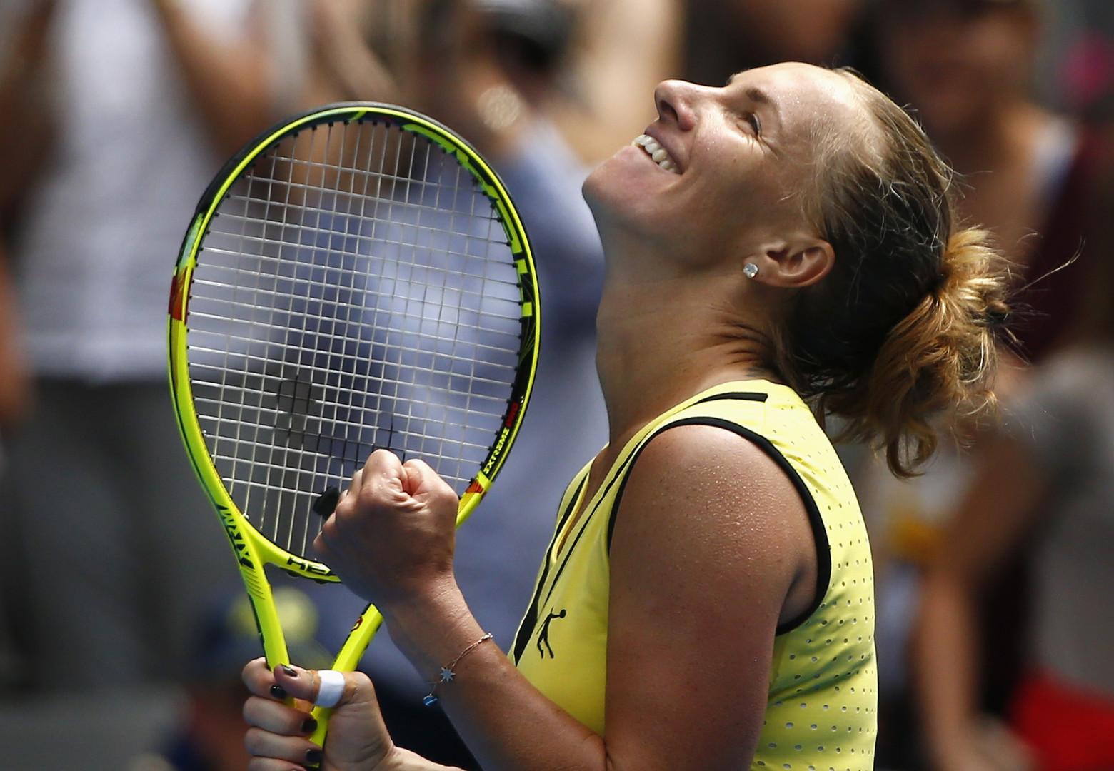 Успешный марафон: Кузнецова 3,5 часа боролась за выход в четвёртый круг Australian Open