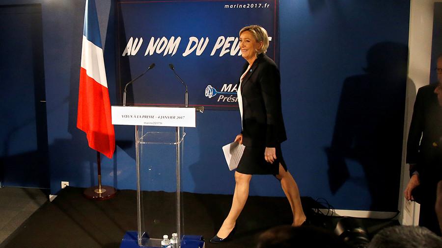 во Франции растёт число сторонников Марин Ле Пен