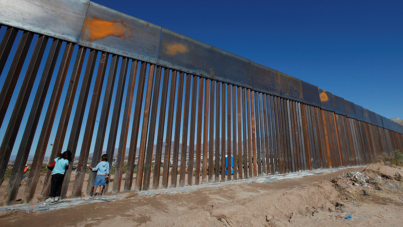Великая мексиканская: Трамп подписал указ о строительстве стены на южной границе США